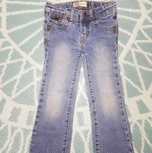 Faded Glory jeans with beaded, embroidered pockets